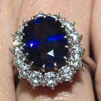 Обручальное кольцо Леди Дианы