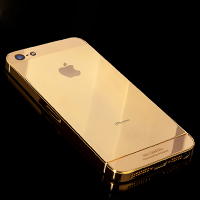 Золотий смартфон iPhone 5s