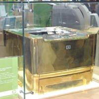Золотой принтер hp LaserJet P2015
