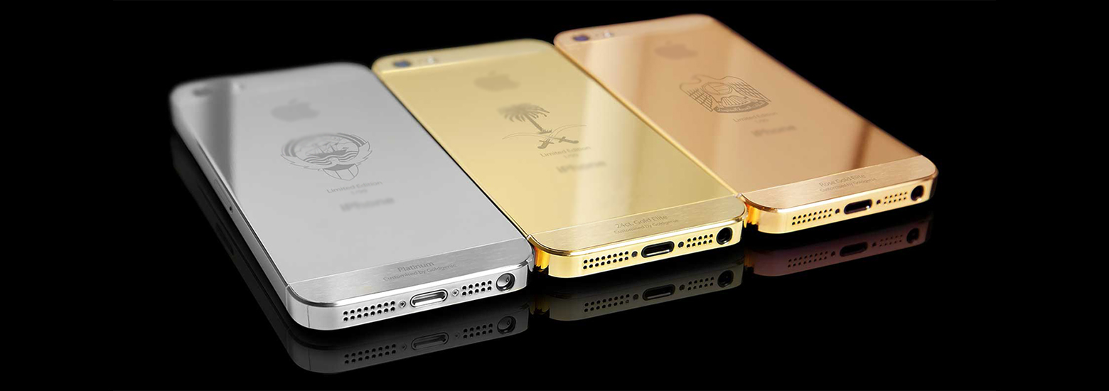Золотые Айфоны